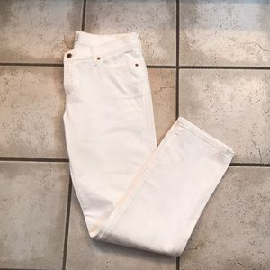 NWOT Lucky Brand White Jeans